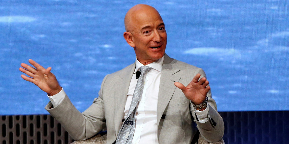 Jeff Bezos is retiring at 57 with $197 billion — 739,489 times the median American's retirement wealth