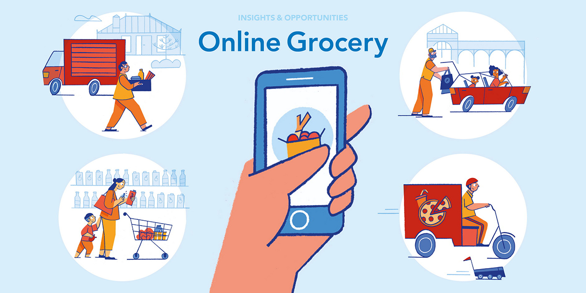 As billions flow into a crowded online grocery market, a wave of consolidation could be on the way